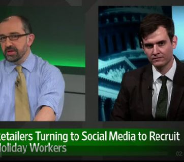 WSJ social media holiday hires video