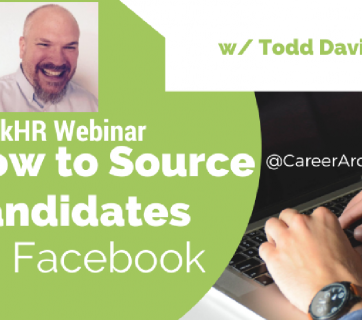 Facebook Sourcing Webinar CareerArc