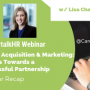 Talent Acquisition & Marketing: 3 Steps Towards a Successful Partnership - A Webinar Recap