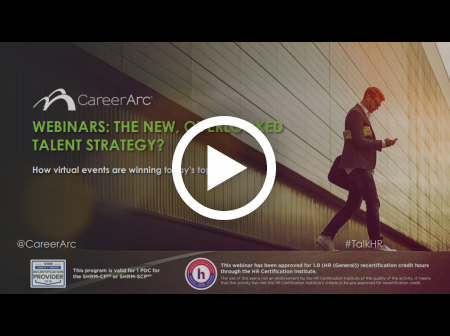 Webinars: The New, Overlooked Talent Strategy? How virtual events are winning today's top talent