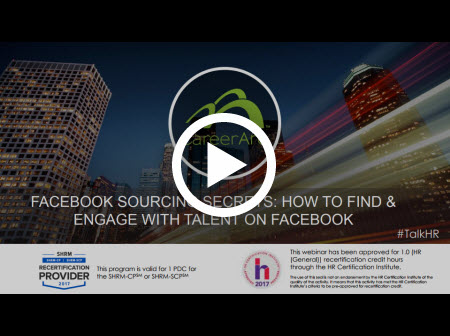 Facebook Sourcing Secrets: How To Find & Engage with Talent on Facebook