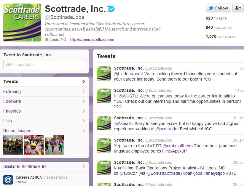 Scottrade on Twitter