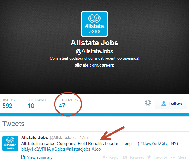 Allstate Jobs Channel