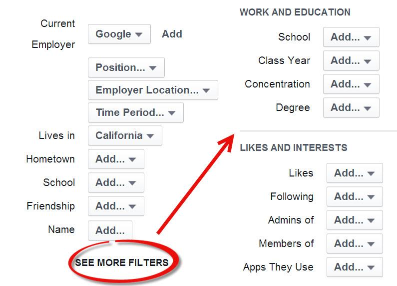 Advanced FB Graph Search