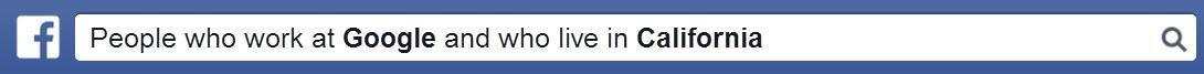 Facebook Graph Search Bar