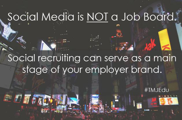 social media employer brand