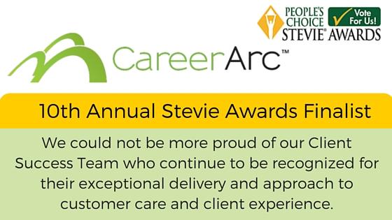 stevie award careerarc quote