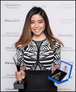 careerarc stevie award 2016 tallulah david
