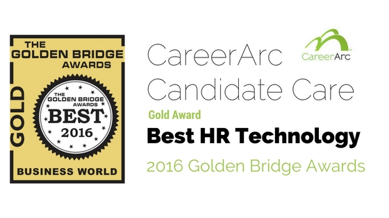 2016 GBA Award Gold CareerArc