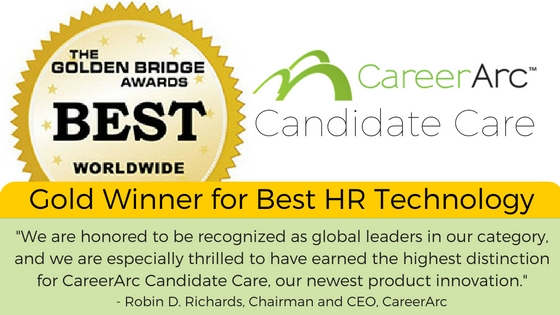careerarc golden bridge awards hr technology