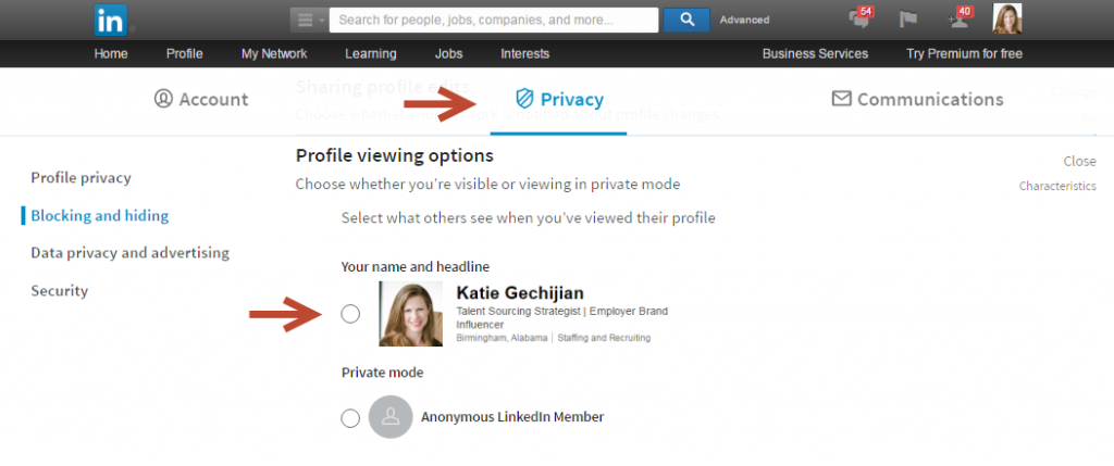 linkedin sourcing secrets