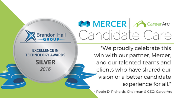 Brandon Hall CareerArc Mercer Quote
