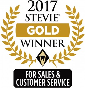 Stevies Award Gold Winner 2017