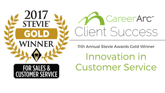 stevie award careerarc innovation 2017