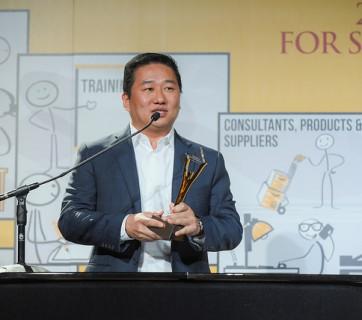 Jae Sung CareerArc Stevie Award