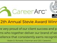CareerArc Stevie Awards 2018