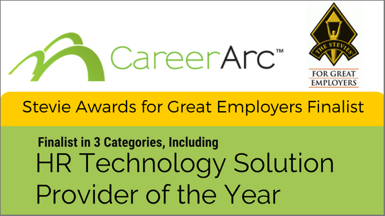HR Technology Stevie Award Finalist CareerArc
