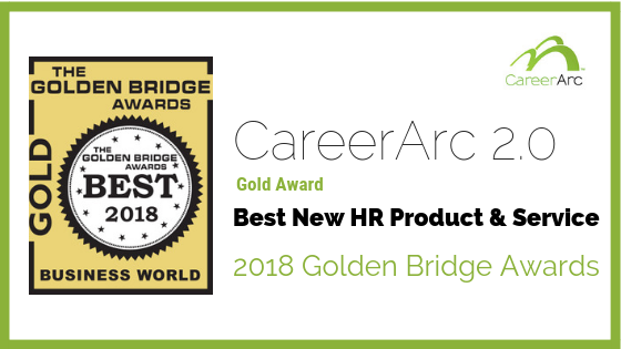 CareerArc Wins Gold for Best New HR Product & Service