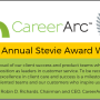 CareerArc Stevie Winner