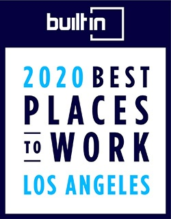 Built in LA 2020 Best Places to Work