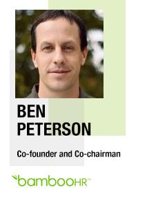 Ben Peterson, Cofounder, BambooHR
