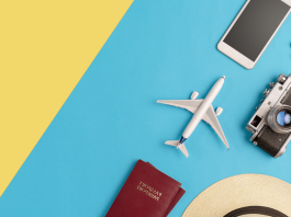 A layout of all the travel necessities, after a new career path was found with careerarc outplacement.