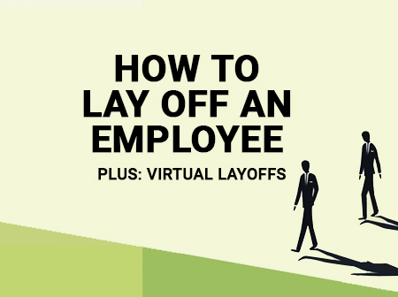 How to lay off an employee - man walking.