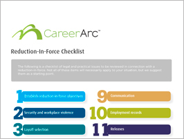 Reduction-In-Force Checklist