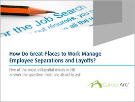 Managing Employee Separations & Layoffs - eBook