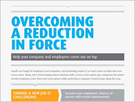 Overcoming A Reduction in Force - Infographic