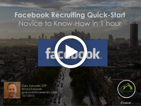 Facebook Recruiting Quick Start: Novice to Know-How in 1 Hour