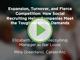 Expansion, Turnover, and Fierce Competition: How Social Recruiting Helps Companies Meet the Toughest Hiring Demands