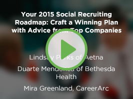 Your 2015 Social Recruiting Roadmap: Craft a Winning Plan with Advice from Top Companies