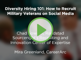 Diversity Hiring 101: How to Recruit Military Veterans on Social Media
