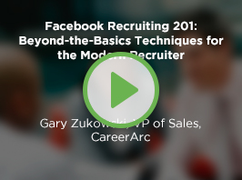 Facebook Recruiting 201: Beyond-the-Basics Techniques for the Modern Recruiter