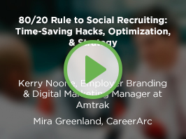 80/20 Rule to Social Recruiting: Time-Saving Hacks, Optimization, & Strategy