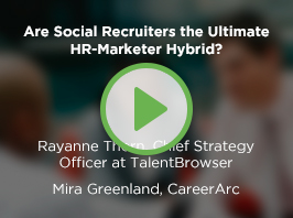 Are Social Recruiters the Ultimate HR-Marketer Hybrid?