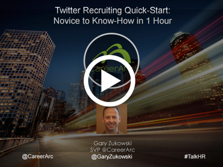 Twitter Recruiting Quick Start: Novice to Know-How in 1 Hour