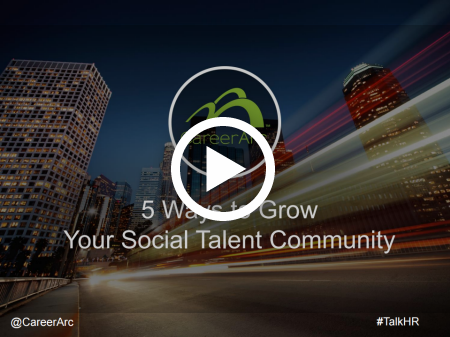 5 Ways to Grow Your Social Talent Community