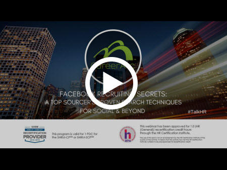 Facebook Recruiting Secrets: A Top Sourcer's Proven Search Techniques for Social & Beyond