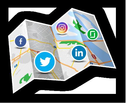 social recruiting map